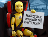 Make sure you have the right child seat