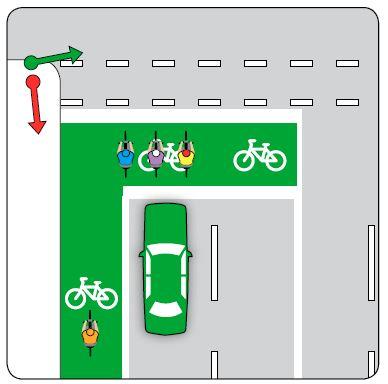 Bike storage area