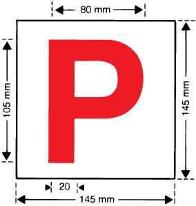 P' plates