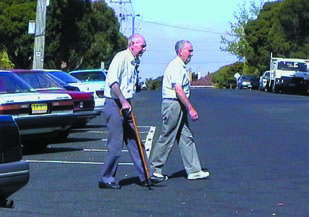 Elderly pedestrians