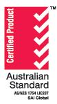 Certified Product - Australian Standard logo